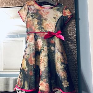 3T Toddle Girl Floral Dress